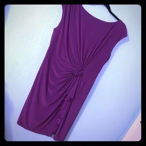 Jones New York Purple Dress